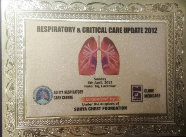 9th RESPIRATORY, CRITICAL CARE & SLEEP MEDICINE SEMINAR lucknow