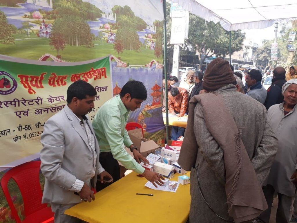 Free health camp in india