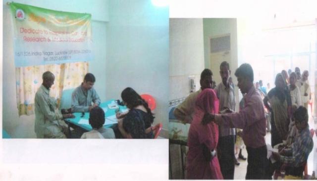 Health Camp in Chitrakoot
