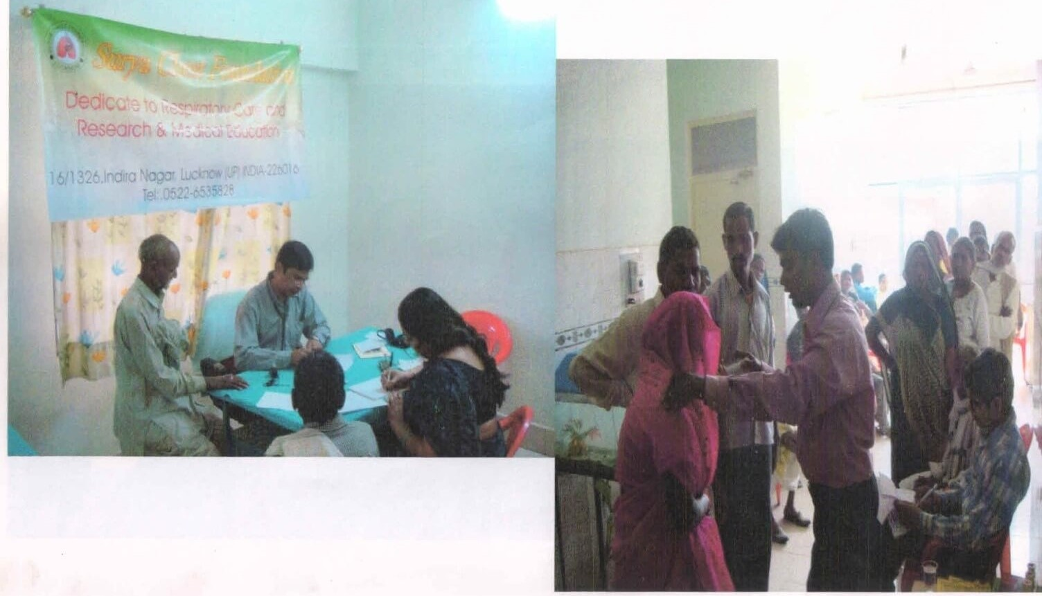 Health Camp in Chitrakoot