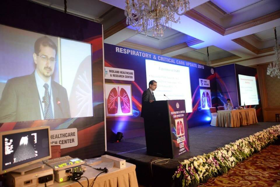 Respiratory and critical care event