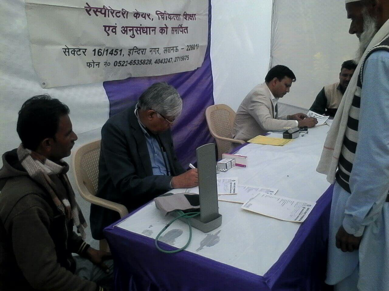 Surya Foundation | Health Camp in Unnao