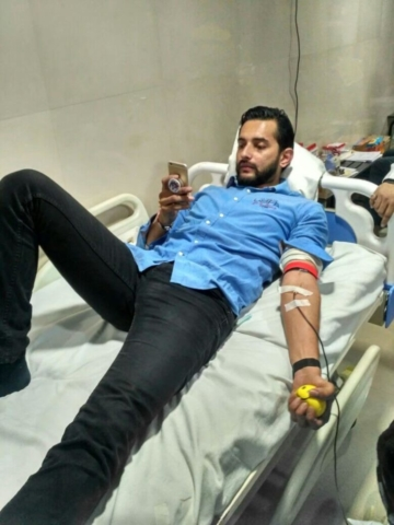 blood donation camp lucknow