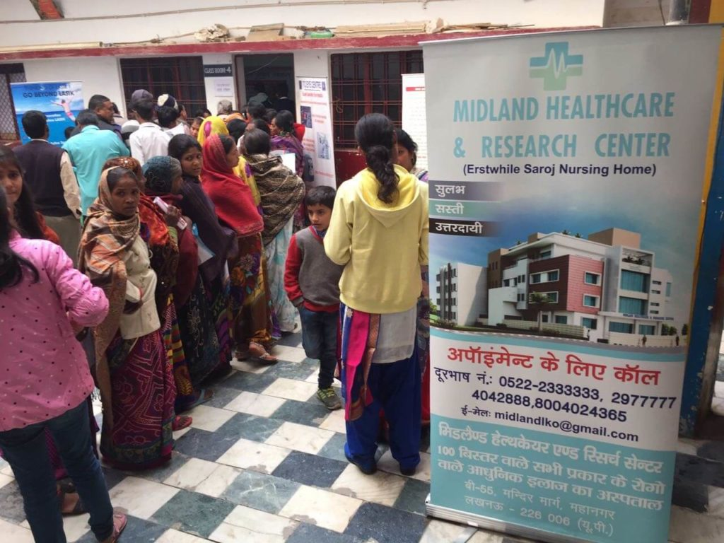 free general check up camp in lucknow