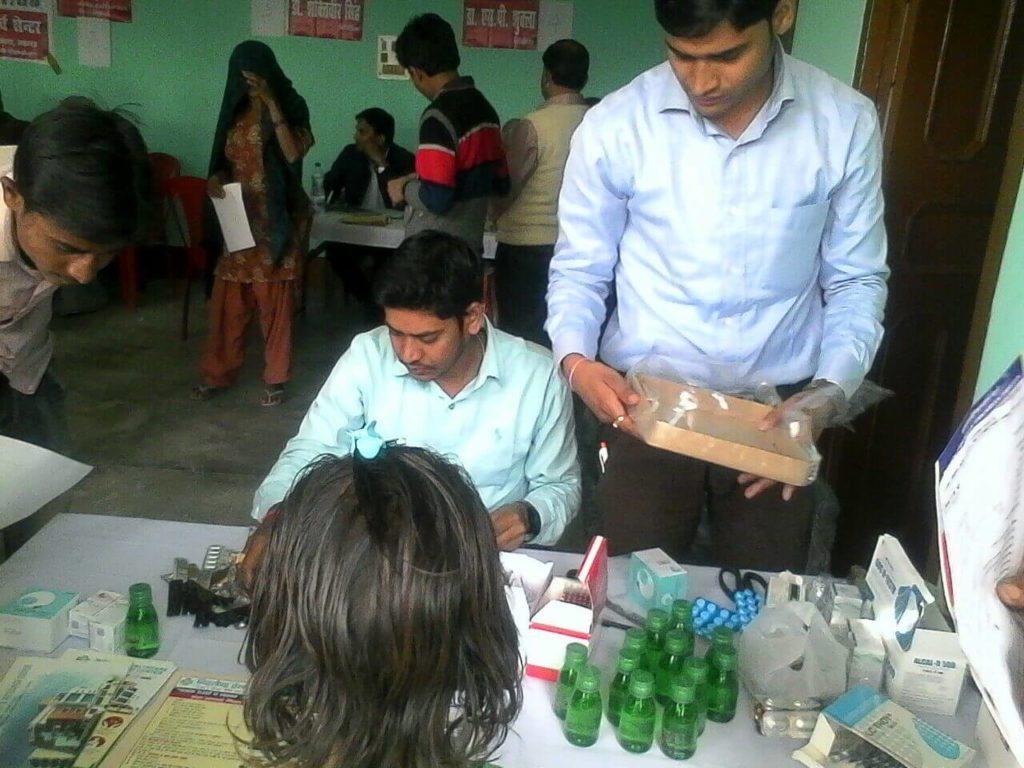 health camp in Lakhimpur