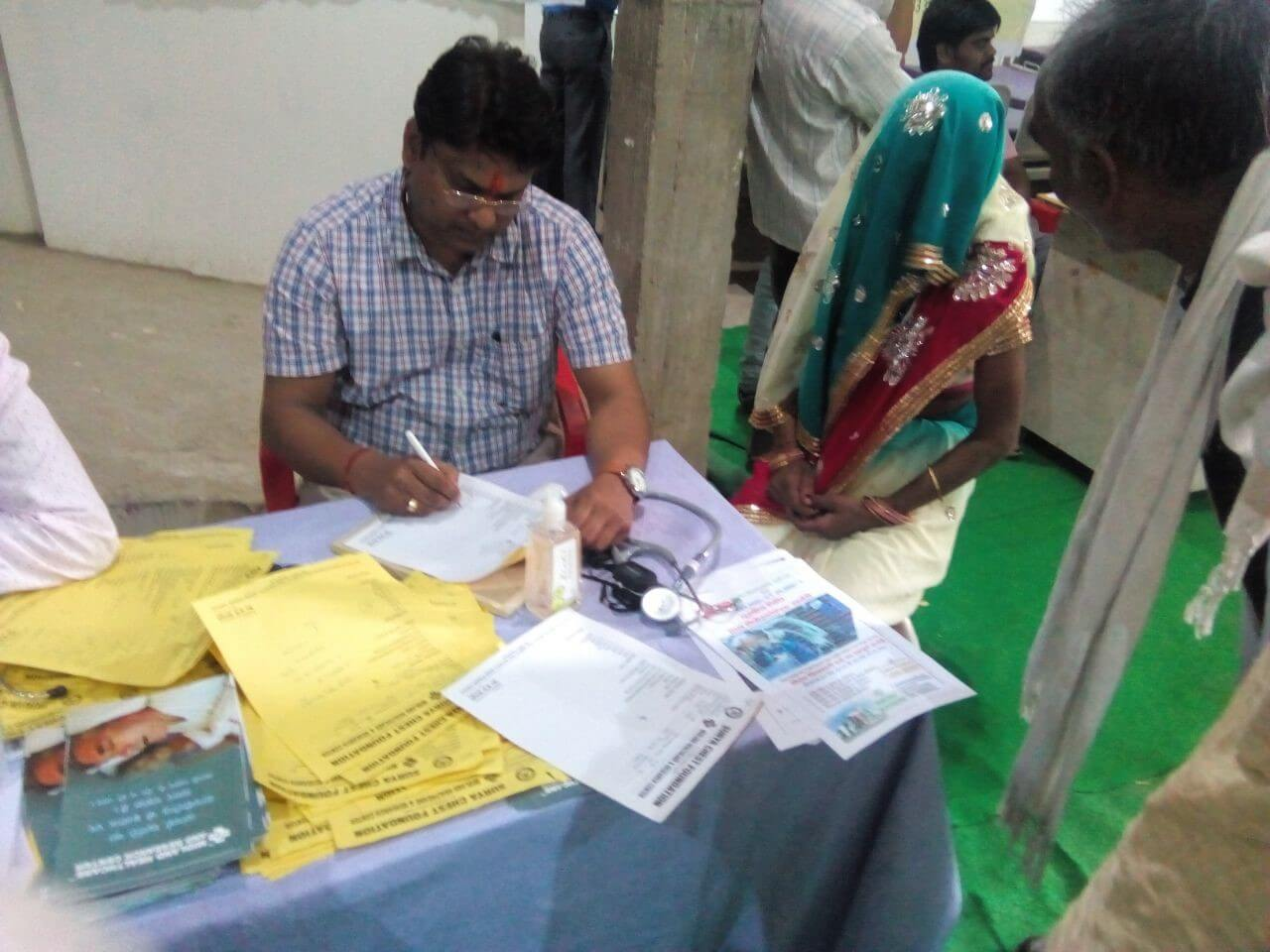 health camp in india