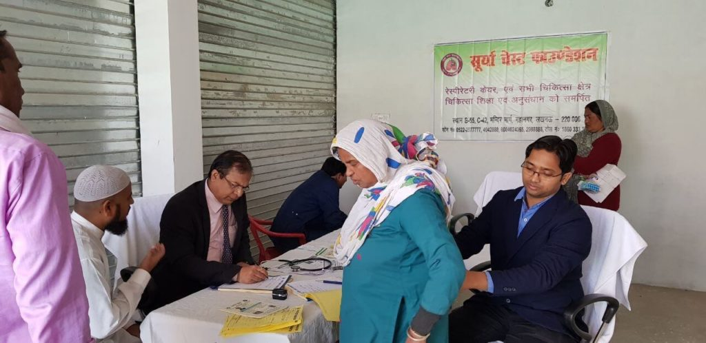 health camp in lucknow