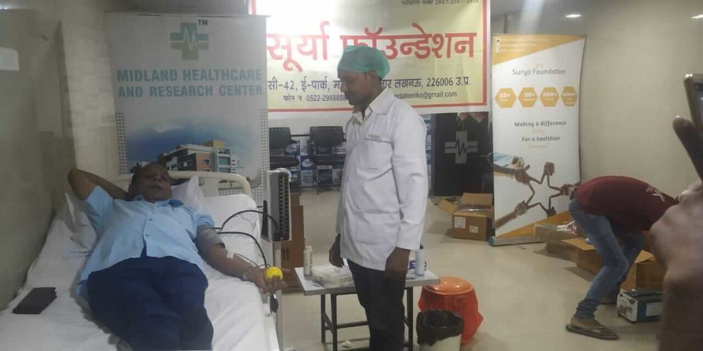 blood donation in lucknow